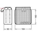Parownik klimatyzacji DENSO DEV23001