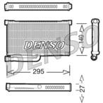 Nagrzewnica ogrzewania kabiny DENSO DRR02004