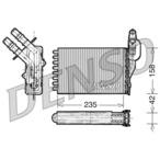 Nagrzewnica ogrzewania kabiny DENSO DRR23001