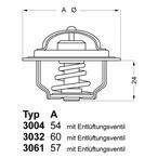 Termostat układu chłodzenia WAHLER 3004.82