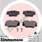 Klocki hamulcowe - komplet ZIMMERMANN 20941.190.1