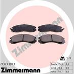 Klocki hamulcowe - komplet ZIMMERMANN 21363.160.1