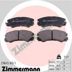 Klocki hamulcowe - komplet ZIMMERMANN 21845.165.1