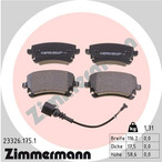 Klocki hamulcowe - komplet ZIMMERMANN 23326.175.1