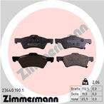 Klocki hamulcowe - komplet ZIMMERMANN 23640.190.1