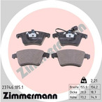 Klocki hamulcowe - komplet ZIMMERMANN 23746.185.1