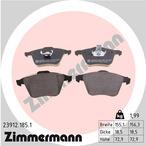 Klocki hamulcowe - komplet ZIMMERMANN 23912.185.1