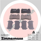 Klocki hamulcowe - komplet ZIMMERMANN 24098.170.1