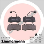 Klocki hamulcowe - komplet ZIMMERMANN 24162.150.2