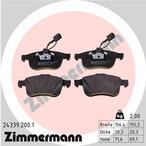 Klocki hamulcowe - komplet ZIMMERMANN 24339.200.1