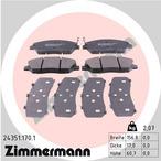 Klocki hamulcowe - komplet ZIMMERMANN 24351.170.1
