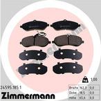 Klocki hamulcowe - komplet ZIMMERMANN 24595.185.1