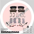 Klocki hamulcowe - komplet ZIMMERMANN 24643.170.2