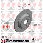 Tarcza hamulcowa ZIMMERMANN 250.1361.20