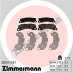 Klocki hamulcowe - komplet ZIMMERMANN 25007.168.1