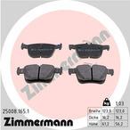 Klocki hamulcowe - komplet ZIMMERMANN 25008.165.1
