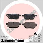 Klocki hamulcowe - komplet ZIMMERMANN 25016.143.1