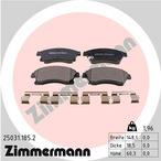 Klocki hamulcowe - komplet ZIMMERMANN 25031.185.2
