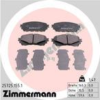 Klocki hamulcowe - komplet ZIMMERMANN 25725.155.1