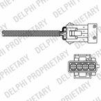 Sonda lambda DELPHI ES10795-12B1
