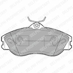 Klocki hamulcowe - komplet DELPHI LP1445