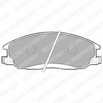 Klocki hamulcowe - komplet DELPHI LP1743