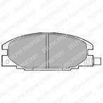 Klocki hamulcowe - komplet DELPHI LP629