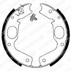 Szczęki hamulcowe hamulca postojowego - komplet DELPHI LS1898