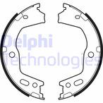 Szczęki hamulcowe hamulca postojowego - komplet DELPHI LS2154