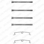 Zestaw akcesoriów klocków hamulcowych DELPHI LX0085