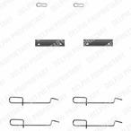 Zestaw akcesoriów klocków hamulcowych DELPHI LX0142