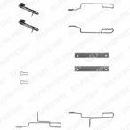 Zestaw akcesoriów klocków hamulcowych DELPHI LX0168