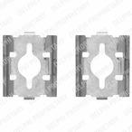 Zestaw akcesoriów klocków hamulcowych DELPHI LX0328