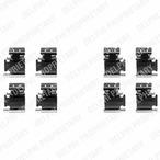Zestaw akcesoriów klocków hamulcowych DELPHI LX0354