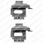 Zestaw akcesoriów klocków hamulcowych DELPHI LX0370