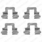 Zestaw akcesoriów klocków hamulcowych DELPHI LX0379