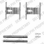 Zestaw akcesoriów klocków hamulcowych DELPHI LX0450