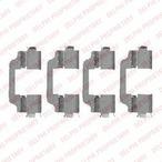 Zestaw akcesoriów klocków hamulcowych DELPHI LX0458