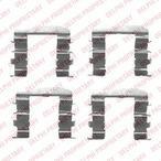 Zestaw akcesoriów klocków hamulcowych DELPHI LX0461