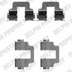 Zestaw akcesoriów klocków hamulcowych DELPHI LX0473