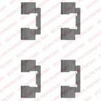 Zestaw akcesoriów klocków hamulcowych DELPHI LX0481