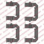 Zestaw akcesoriów klocków hamulcowych DELPHI LX0501