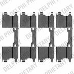 Zestaw akcesoriów klocków hamulcowych DELPHI LX0502