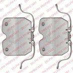Zestaw akcesoriów klocków hamulcowych DELPHI LX0504