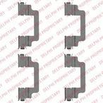 Zestaw akcesoriów klocków hamulcowych DELPHI LX0505