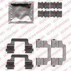 Zestaw akcesoriów klocków hamulcowych DELPHI LX0509