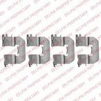 Zestaw akcesoriów klocków hamulcowych DELPHI LX0520