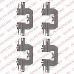 Zestaw akcesoriów klocków hamulcowych DELPHI LX0524