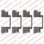 Zestaw akcesoriów klocków hamulcowych DELPHI LX0525