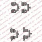 Zestaw akcesoriów klocków hamulcowych DELPHI LX0531